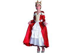 Dětský karnevalový kostým Královna 120-130 cm