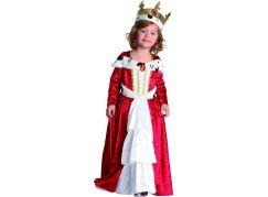 Dětský karnevalový kostým Královna 92-104 cm