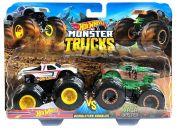 Mattel Hot Wheels Monster trucks demoliční duo Hot Wheels VS Baja Buster GBT71