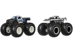 Mattel Hot Wheels Monster trucks demoliční duo Police VS Holigan
