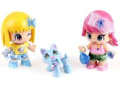 2 figurky se zvířátkem PinyPon