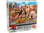 3D Puzzle Kids Psi 48 dílků