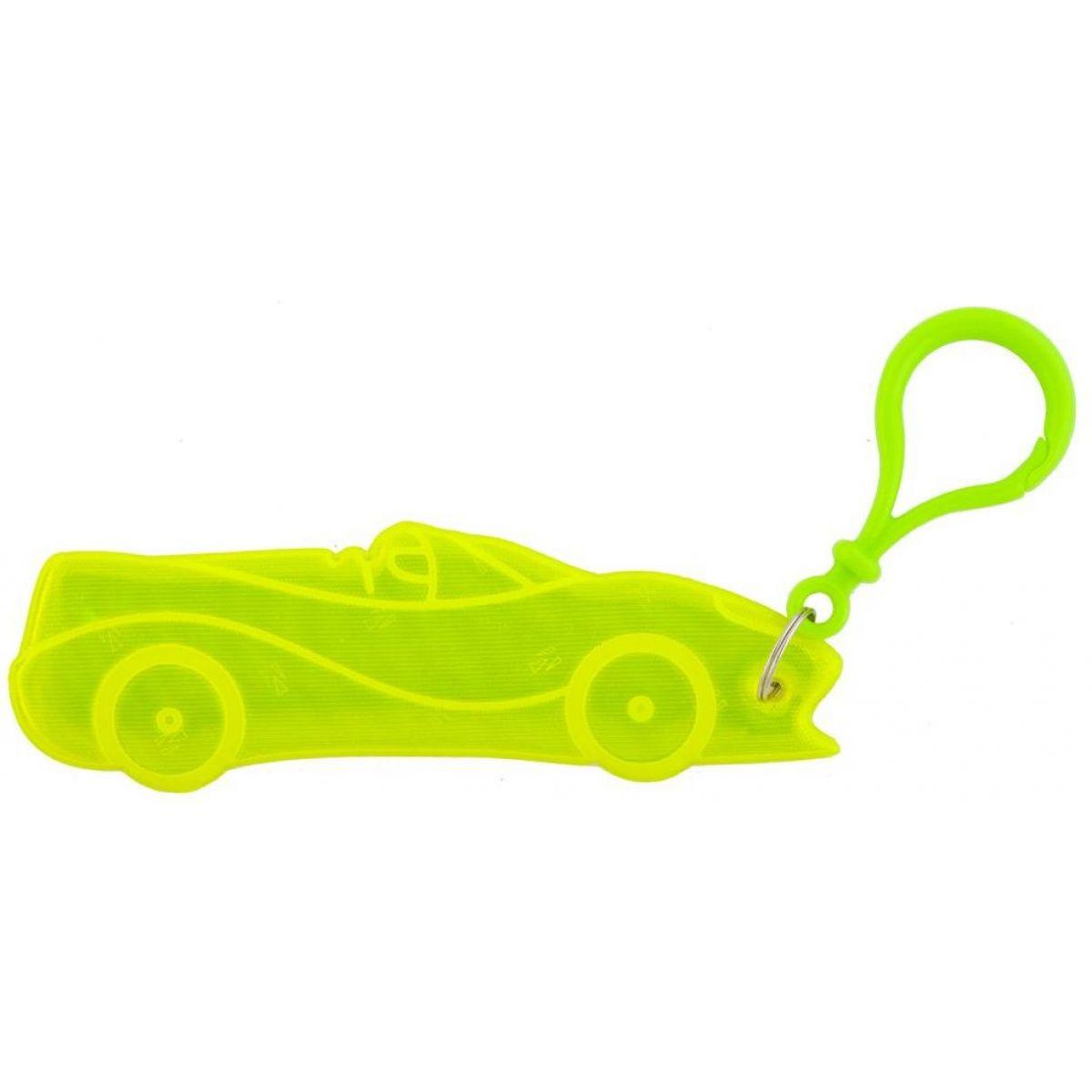 3M Reflexní přívěšky - dopravní prostředky auto žluté