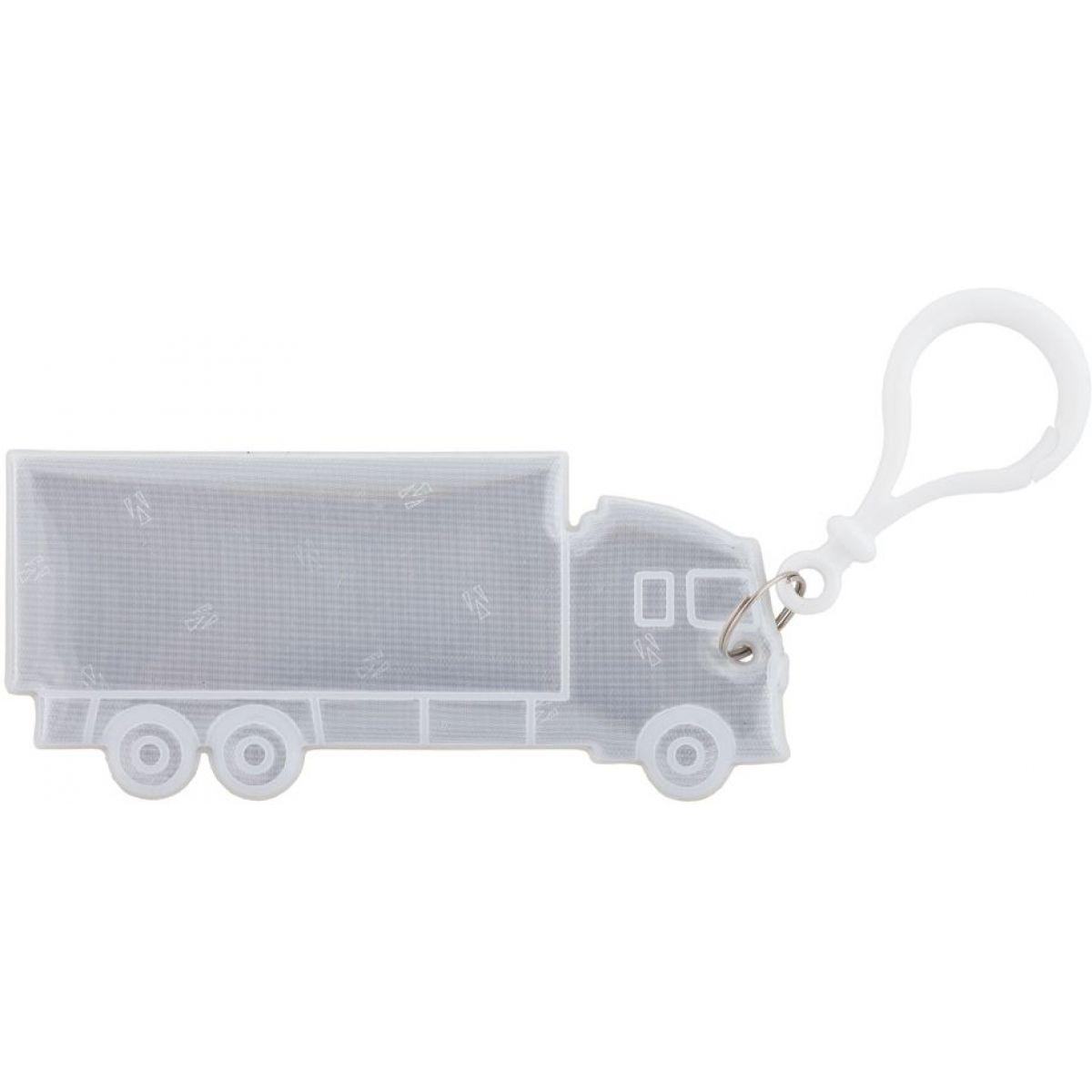 3M Reflexní přívěšky - dopravní prostředky kamion bílý