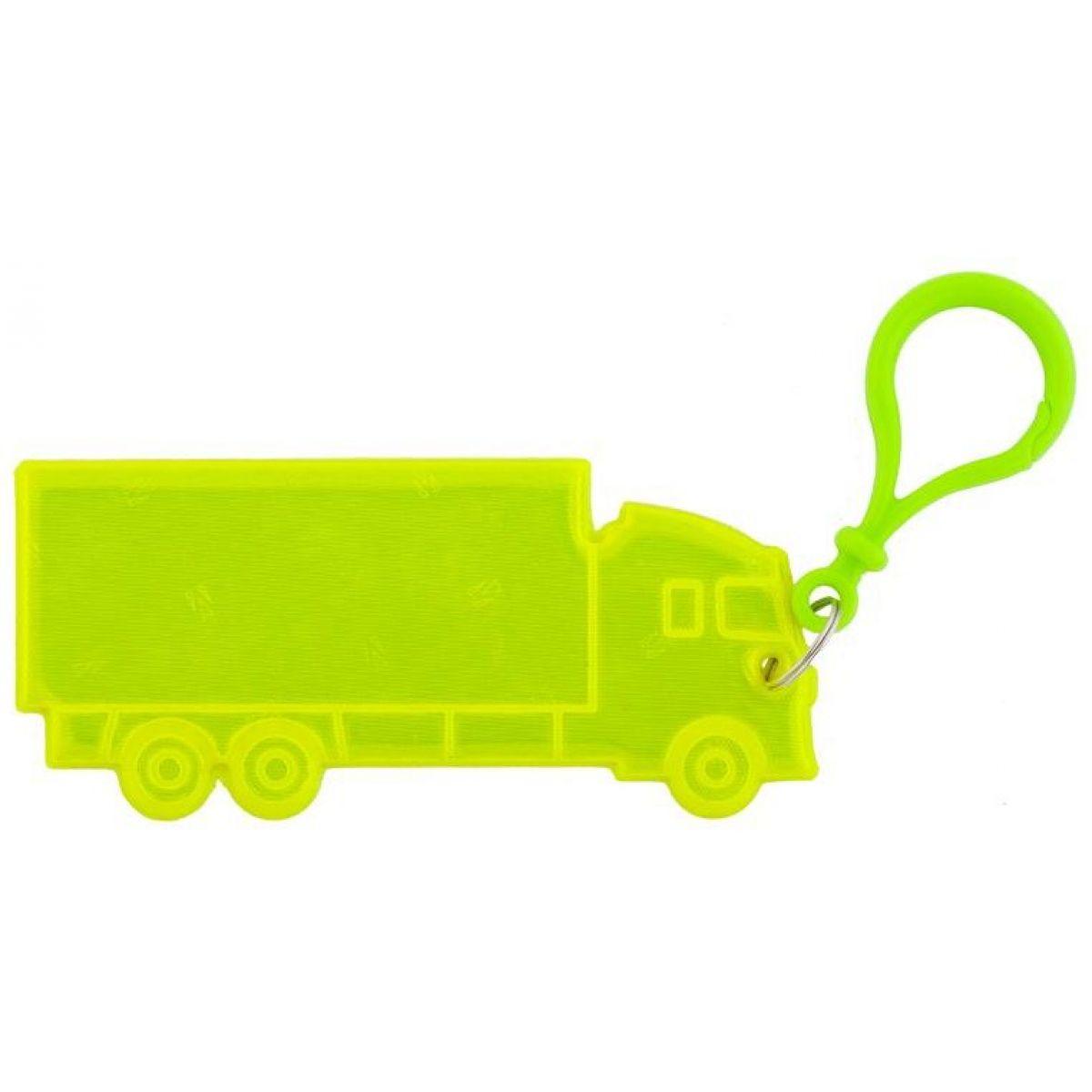 3M Reflexní přívěšky - dopravní prostředky kamion žlutý
