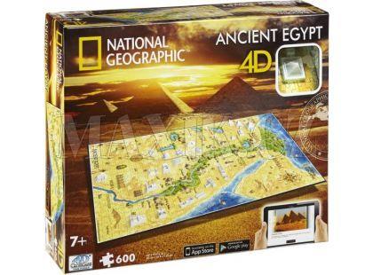 4D Cityscape National Geographic Starověký Egypt