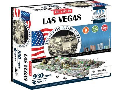 4D Cityscape Puzzle Las Vegas