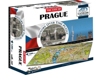 4D Cityscape Puzzle Praha