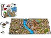 4DCity Puzzle - Budapešť