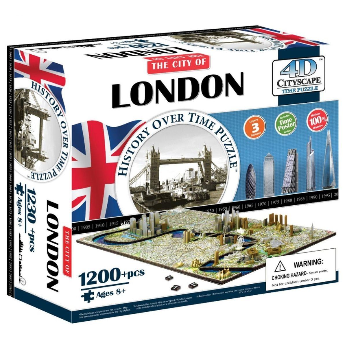 4DCity Puzzle - Londýn