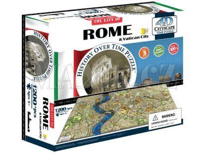 4DCity Puzzle - Řím