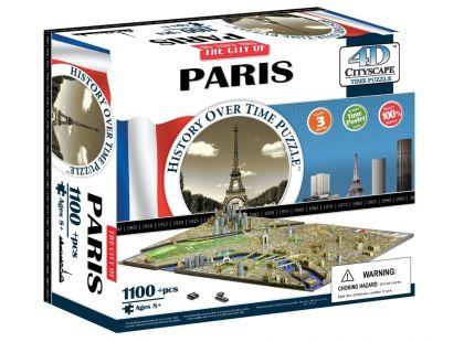 4DCity Puzzle - Paříž