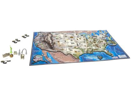 4DCity Puzzle - USA