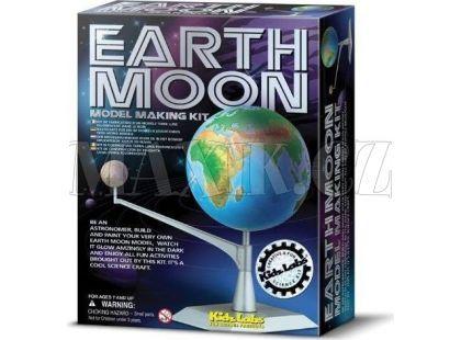 4M Pohyblivý model Země a Měsíce