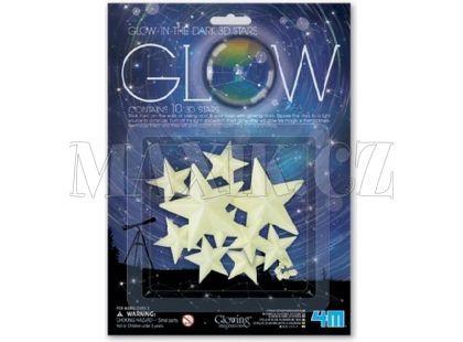 4M Svítící 3D hvězdy