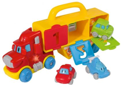 ABC Nákladní auto s autíčky