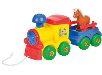 ABC Tahací vláček - Koník