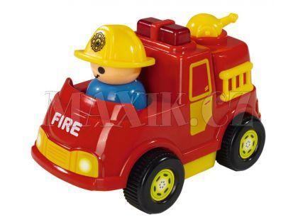 ABC Veselé autíčko s figurkou - Hasičské červené