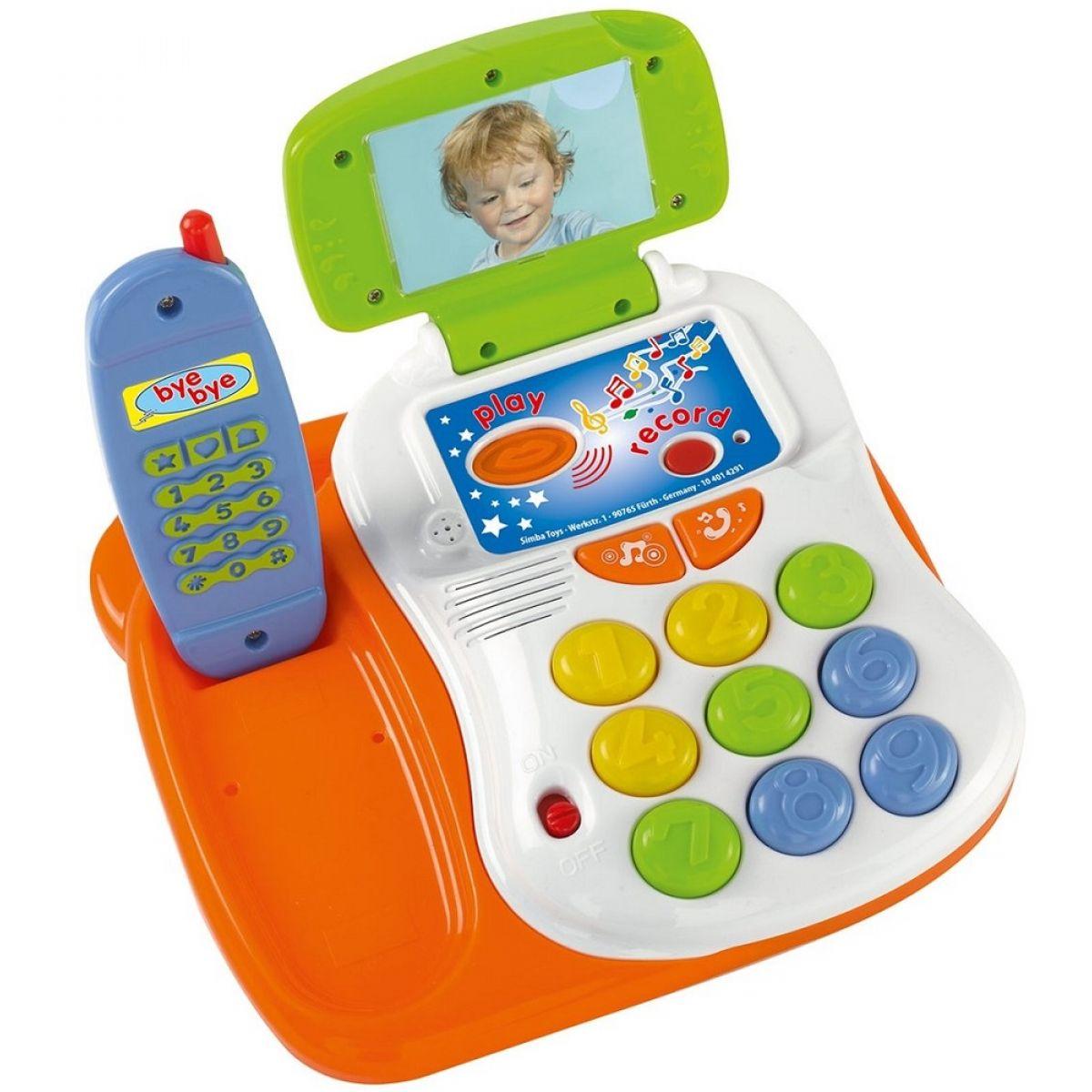 ABC Veselý telefon s funkcí nahrávání