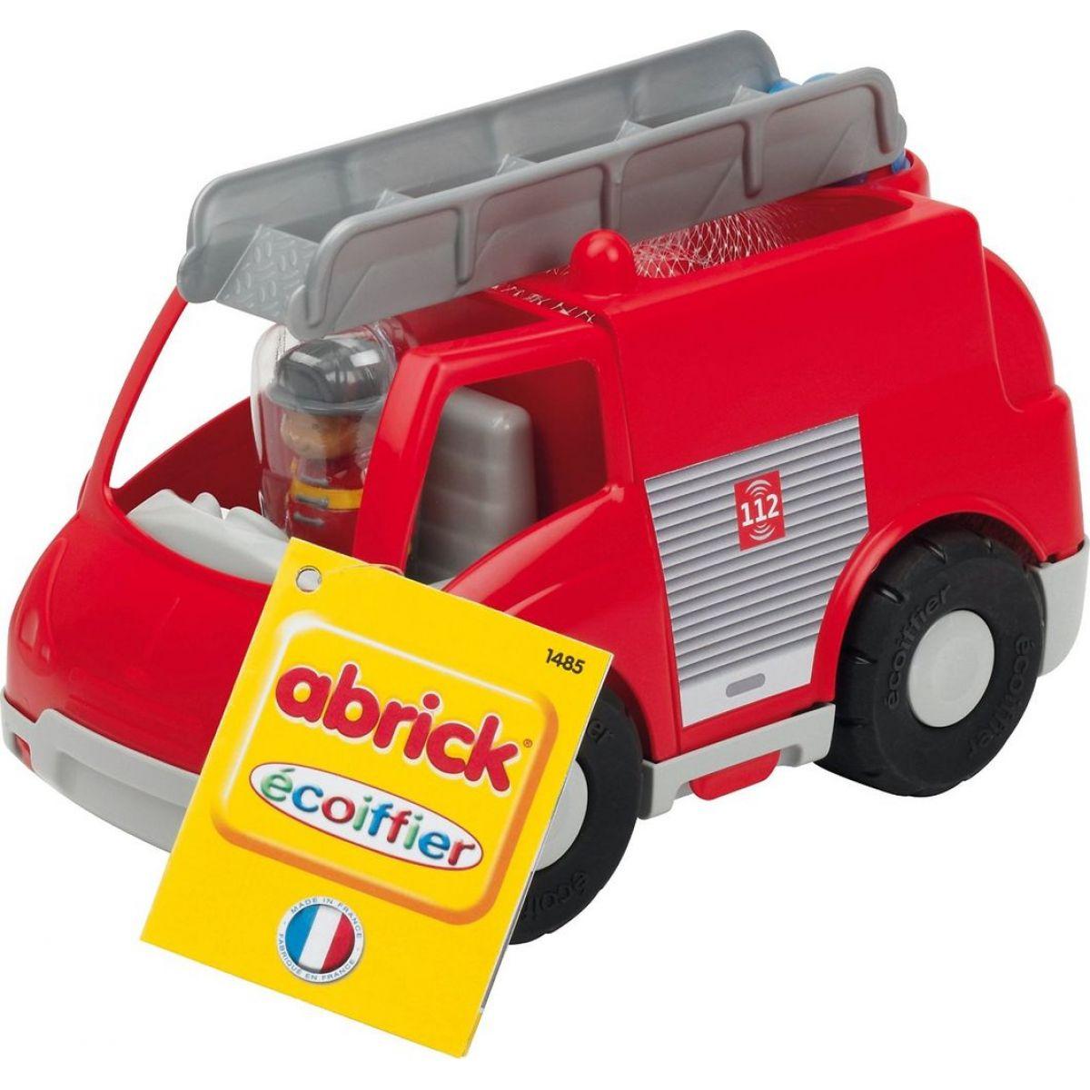 Abrick 1485 Hasičské auto s kostkami