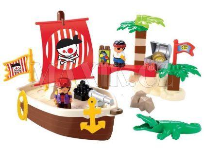 Abrick 3179 Pirátská loď s ostrovem 34ks