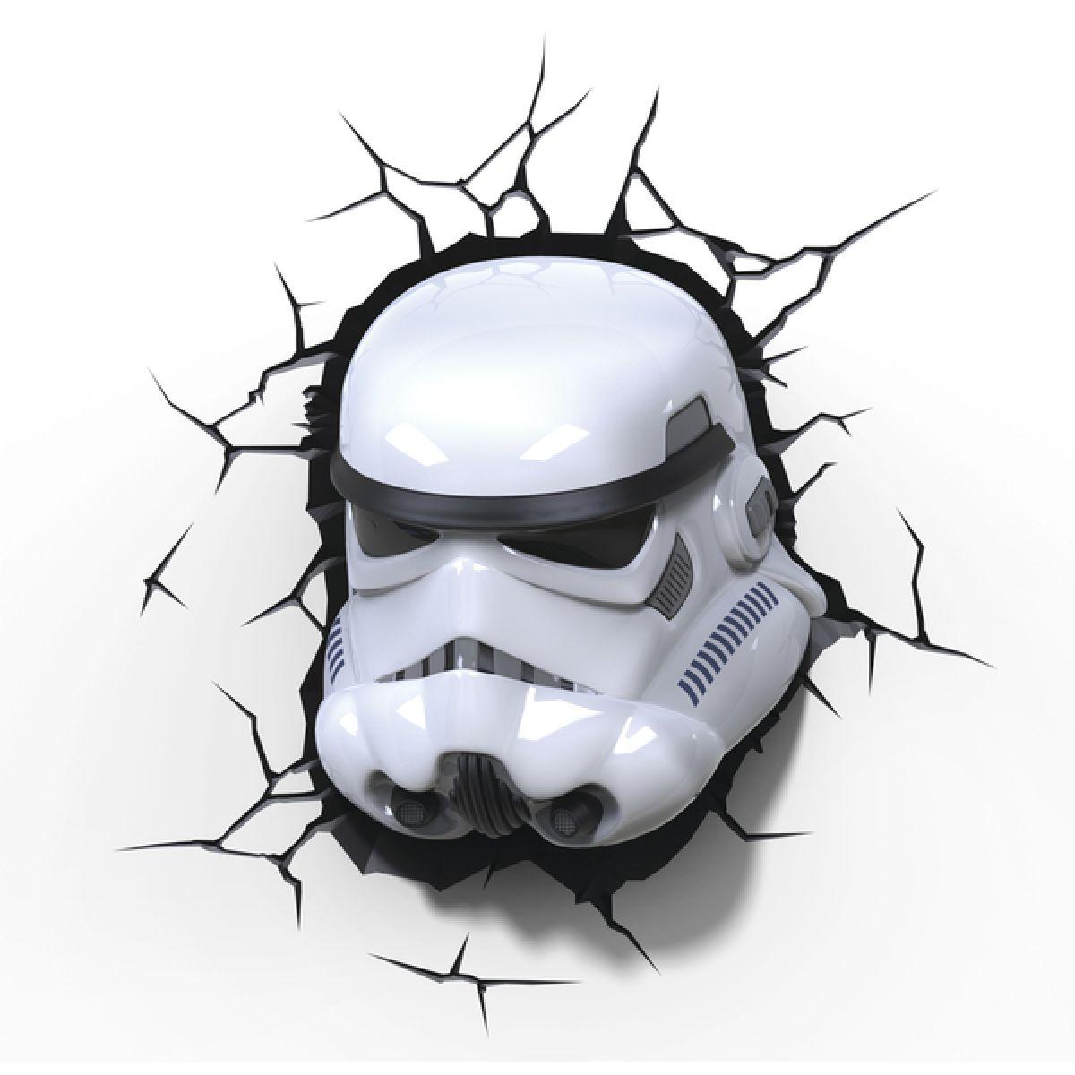 ADC Black Fire 3D světlo EP7 Star Wars Storm Trooperova maska