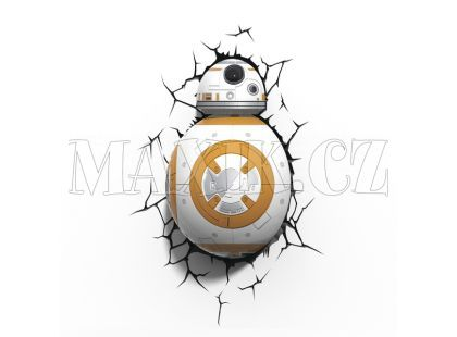 ADC Black Fire 3D světlo EP7 Star Wars BB-8