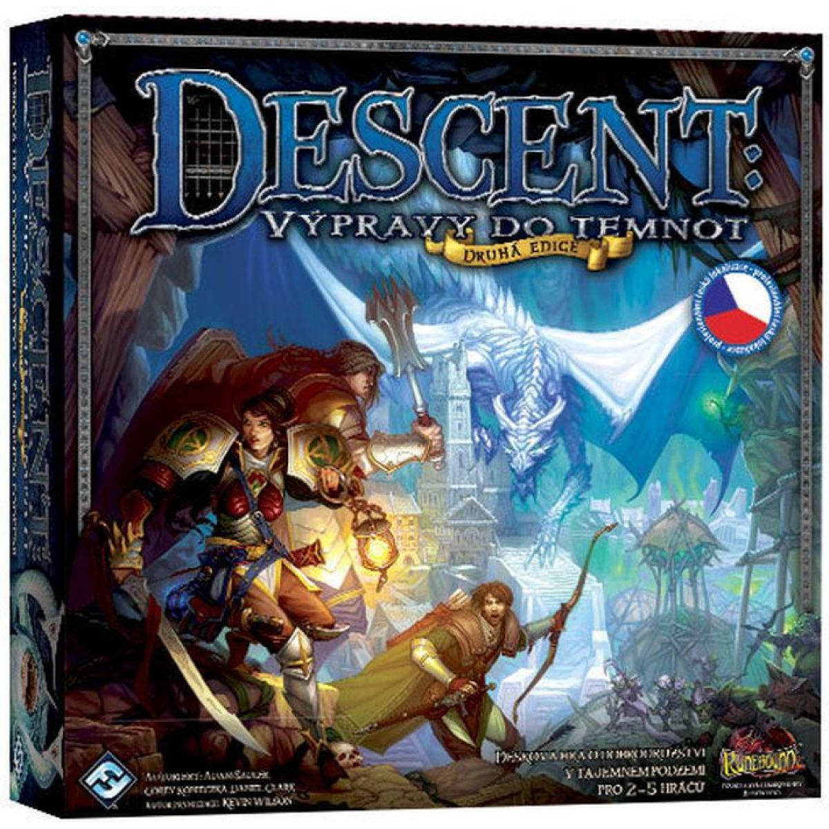 ADC Blackfire Descent Výprava do temnot - druhá edice
