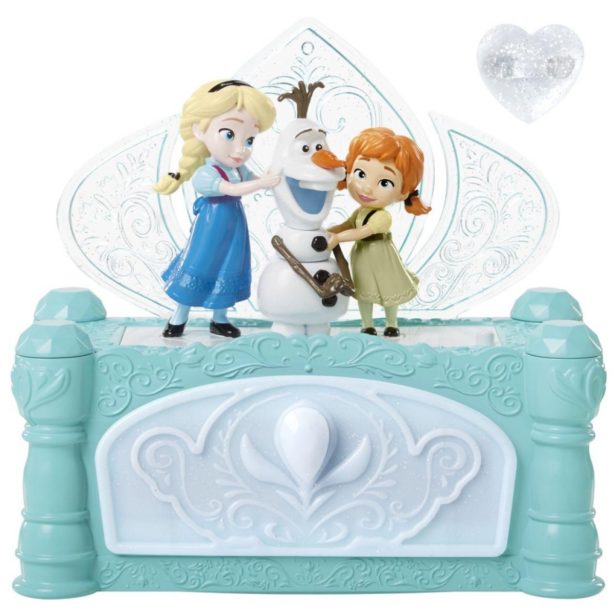 ADC Blackfire Ledové království Hudební šperkovnice Anna a Elsa