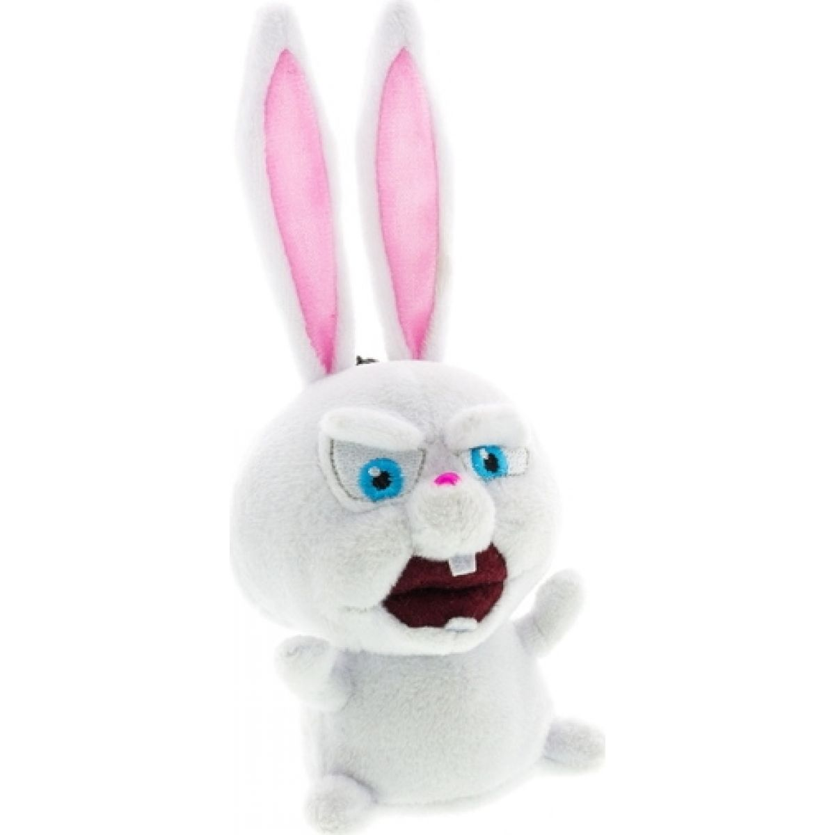 ADC Blackfire Tajný život mazlíčků Plyšová hračka s přívěskem - Snowball