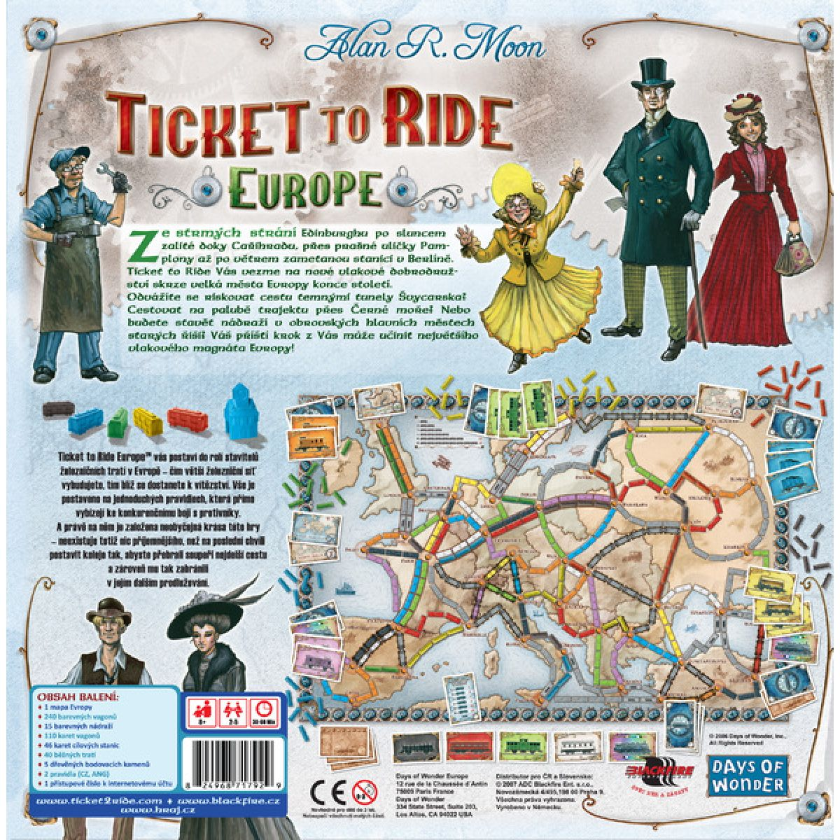 ADC Blackfire Ticket to Ride - Europe #2