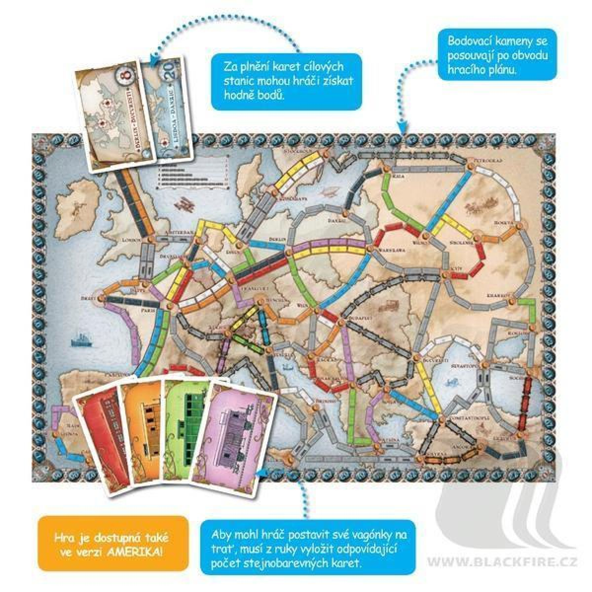 ADC Blackfire Ticket to Ride - Europe #4