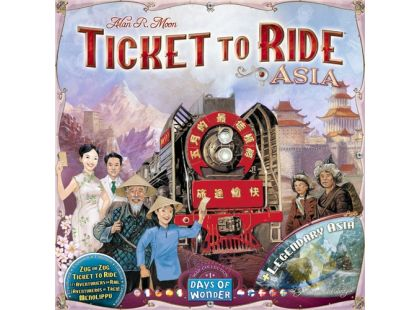 ADC Blackfire Ticket to Ride - Legendary Asia