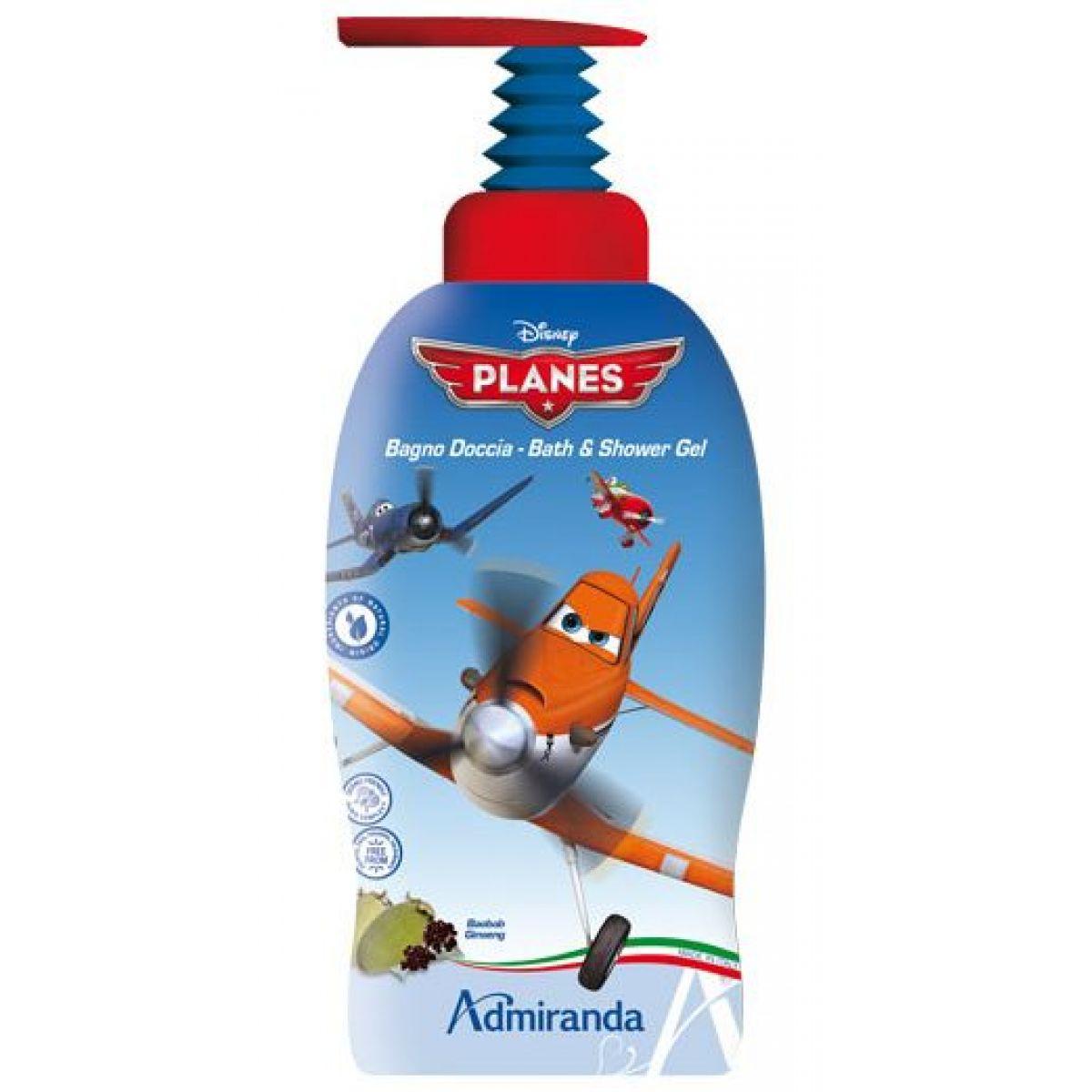 Admiranda Planes 2v1 Koupelový a sprchový gel 1L