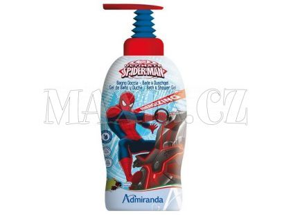 Admiranda Spider-Man Dětský sprchový gel 1L Ultimate Energizing 2v1