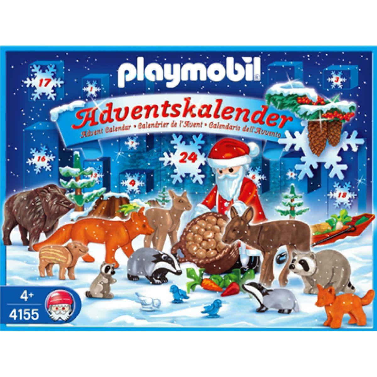 Adventní kalendář Vánoce v lese Playmobil