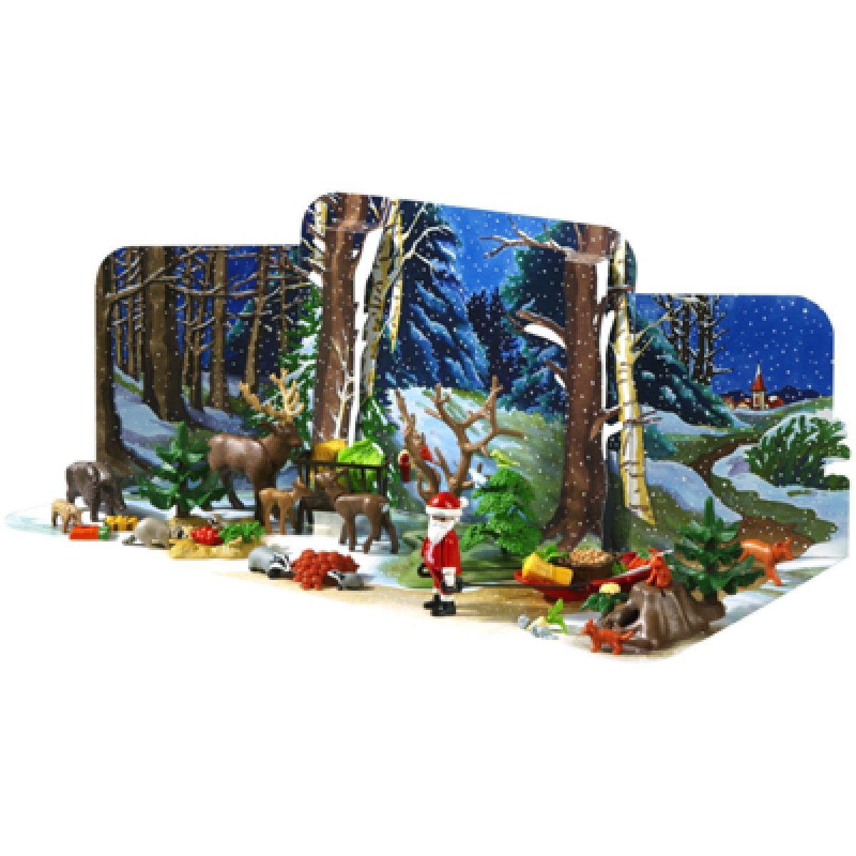 Adventní kalendář Vánoce v lese Playmobil #2