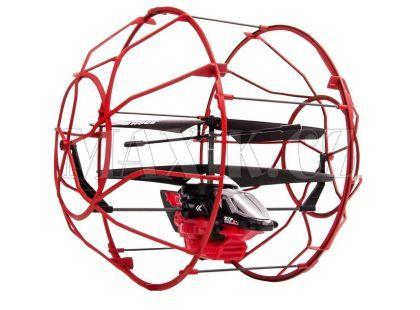 Air Hogs RC Vrtulník Roller - Červená