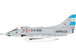 Airfix Classic Kit letadlo A03029A Douglas A4 Skyhawk 1:72