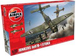 Airfix Classic Kit letadlo A03087 Junkers JU87 Stuka 1:72 nová forma