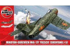 Airfix Classic Kit letadlo A03091 Mikoyan-Gurevich MiG-17F Fresco 1:72