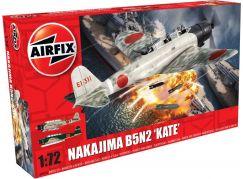 Airfix Classic Kit letadlo A04058 Nakajima B5N2 Kate 1:72 nová forma