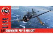Airfix Classic Kit letadlo A19004 Grumman F6F5 Hellcat 1:24