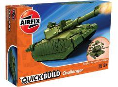 Airfix Quick Build tank J6022 Challenger Tank zelená