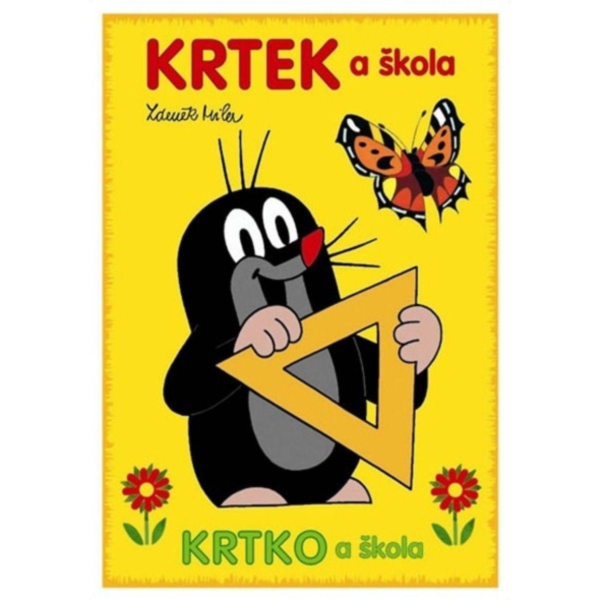 Akim Omalovánky Krtek a škola A5