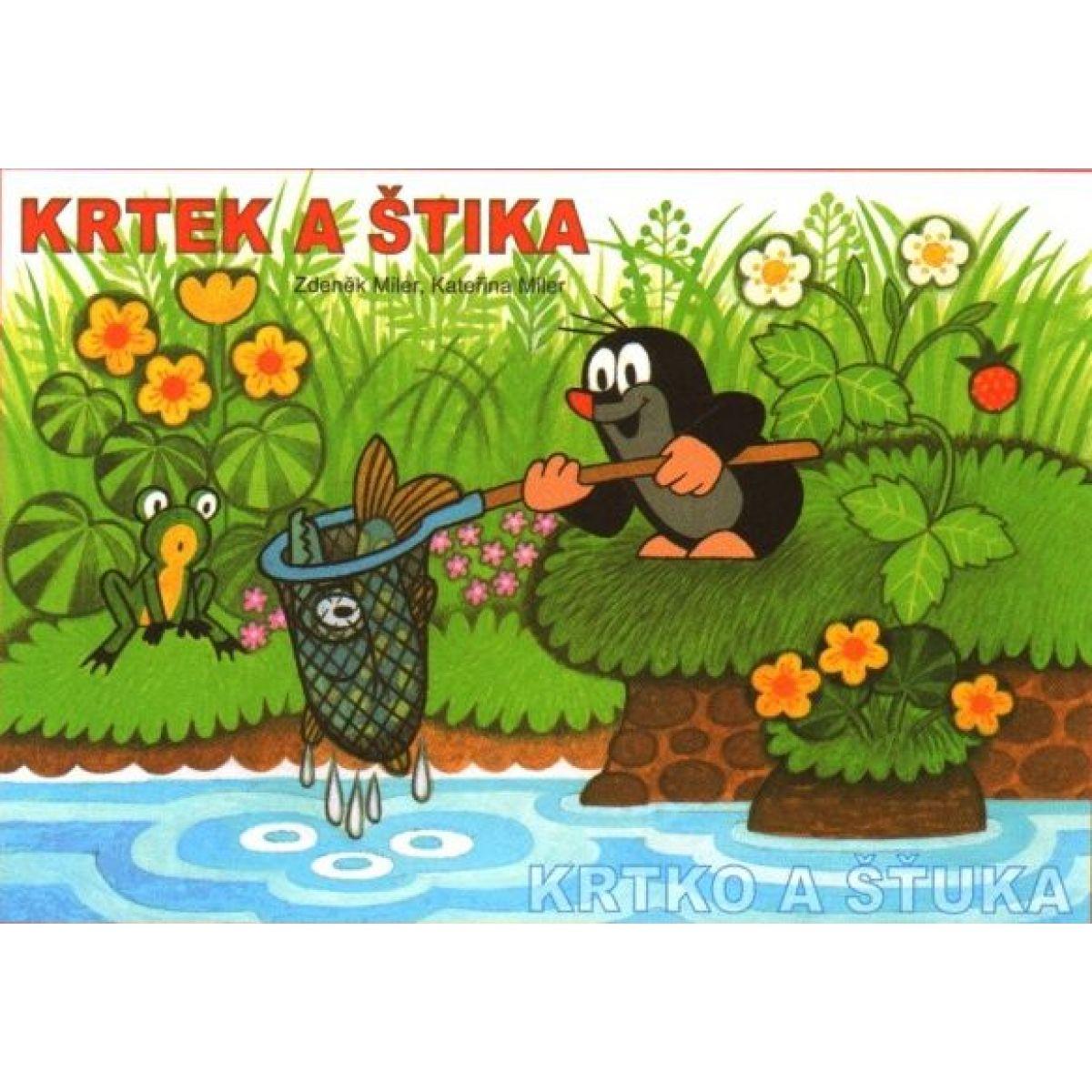 Akim Omalovánky Krtek a štika A5