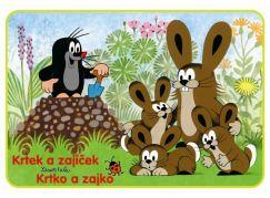 Akim Omalovánky Krtek a zajíček A5