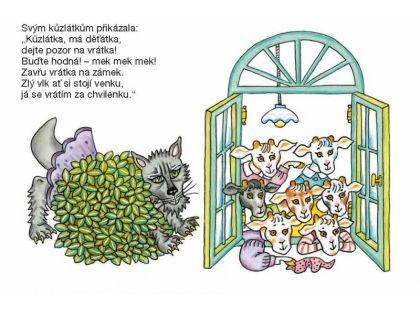 Albatros Knížka Leporelo - Kozí pohádka