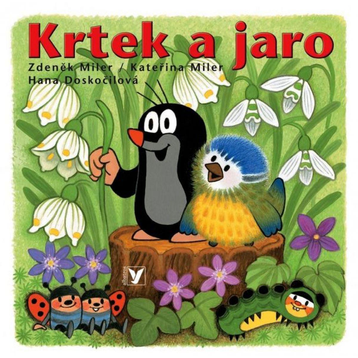 Albatros Knížka leporelo - Krtek a jaro