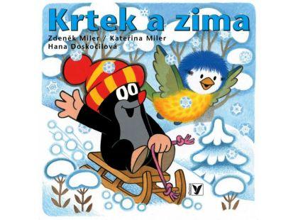 Albatros Knížka leporelo - Krtek a zima